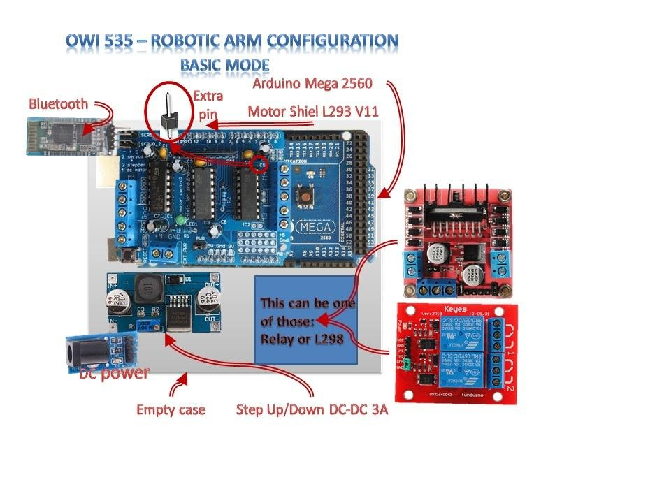 OWI535 Robotic Arm To Rover Arm, Arduino download | SourceForge.net