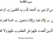 PakType Naskh Basic - Text source www.tanzil.net