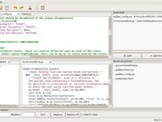 Pallavi 0.5: IDE-like view with several docking windows open