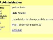 domain list administration