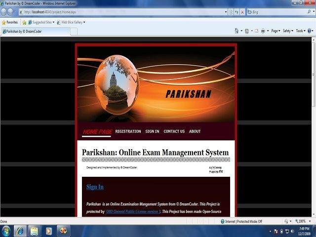 Parikshan: Online Exam Management System download | SourceForge net