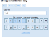 Generate New Strong Password