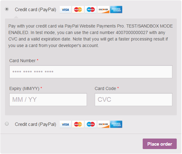 PayPal Pro for WooCommerce download | SourceForge net