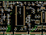 analog to digital converter board gerber output pic