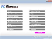 PC Starters CD Interface