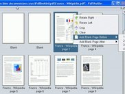 Pdf-Shuffler is associated with Pdf-Booklet for selection