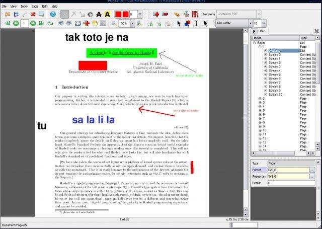 PDFedit download | SourceForge net