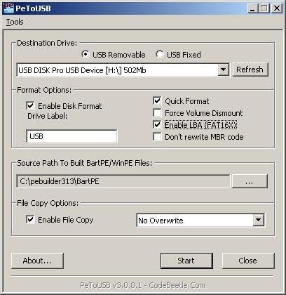BARTPE USB WINDOWS 7 64BIT DRIVER DOWNLOAD