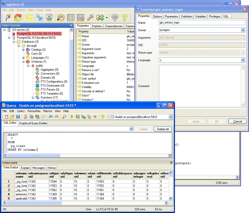 PgAdminPortable download | SourceForge net