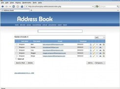 php address book download sourceforge net