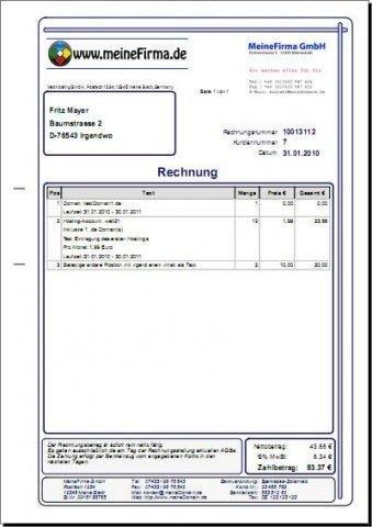 Index pdf generator in php