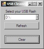 USB Flash Drive Cleaner v1.5