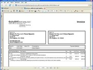 Invoice (PDF) Print Out