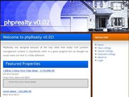 Home page with features script on home page