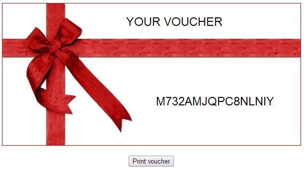 Lovely Make Voucher Throughout Make Voucher