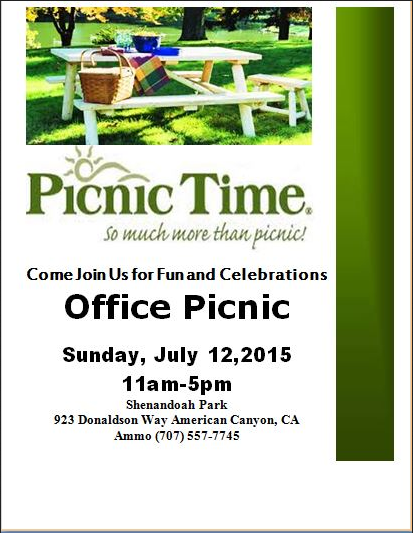 Office Picnic Flyer ...