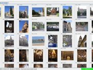 Manage tab with all the pictures