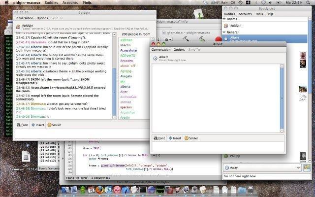 Pidgin on MacOSX download | SourceForge net