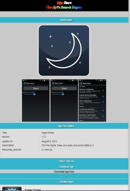 Play store app downloader php script download | SourceForge net