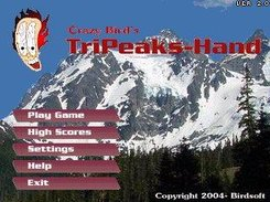 PocketFrog-powered game: Tri-Peaks Hand