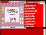 Pokemon Red Pokedex