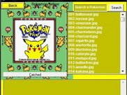 Pokemon Yellow Pokedex