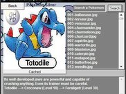 Pokemon Silver Pokedex