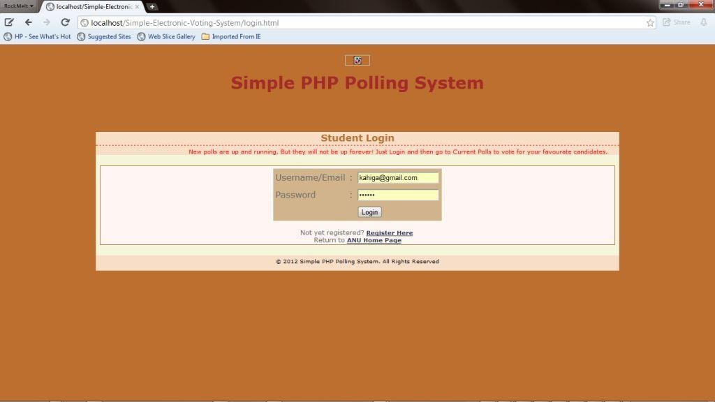 Simple PHP Polling System download | SourceForge net