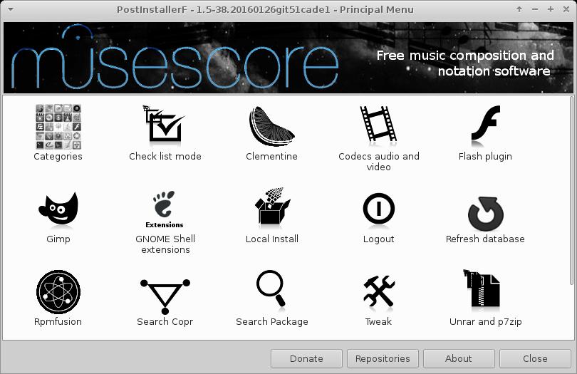 PostInstallerF download | SourceForge net