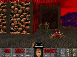 "Doom E3M6 ""Mt. Erebus"" - software mode"