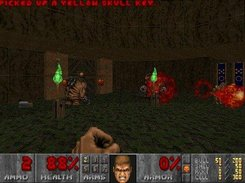 "Final Doom, Plutonia MAP13 ""The Crypt"" - GL mode"
