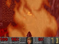 "Doom 2 MAP28 ""The Spirit World"" - GL mode."