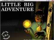 Little Big Adventure intro screen