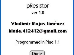 pResistor is a resistor calculator for Palm OS