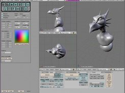 Version 0.6 alpha, working with sculpties and sculpt mode.