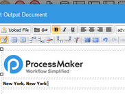Output Document Builder