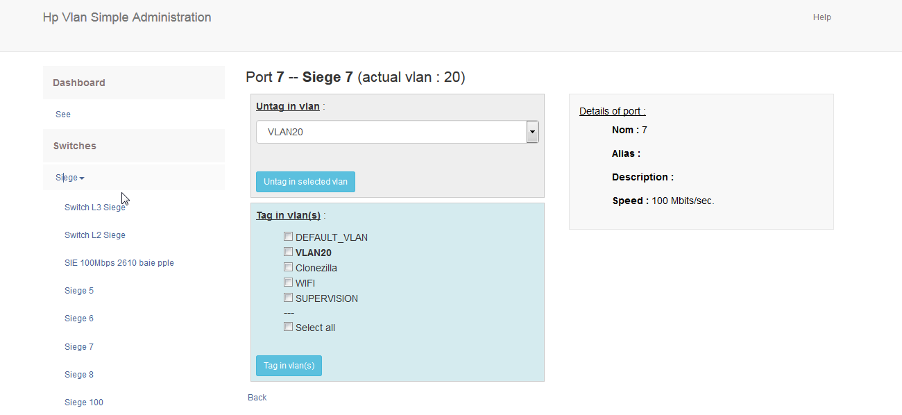 HP/Aruba simple VLAN management download | SourceForge net