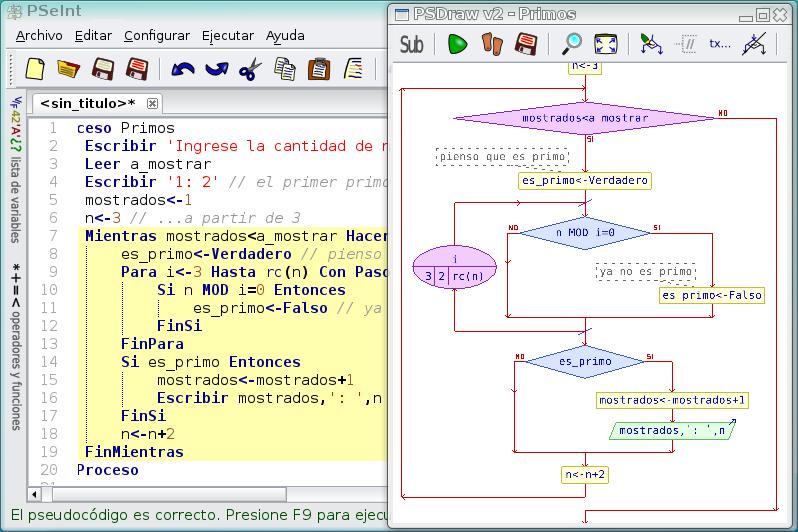 Pseint download sourceforge edicin diagramas de flujo ccuart Choice Image