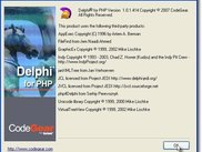 Screenshot Delphi for PHP