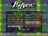 The user interface in PsyKurve 1.0