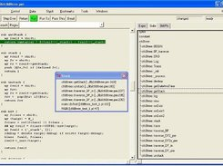 3. Main window and subroutine's tab