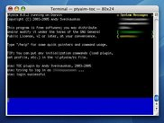 ptyaim running on Mac OS X
