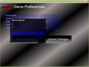 View of the Preferences Menu