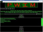PWIM ver. 0.05 - Graphical Configure