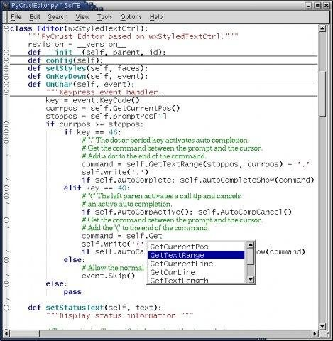 Pygtk application example