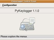 PyKeylogger 1.1.0. More screenshots available on website.