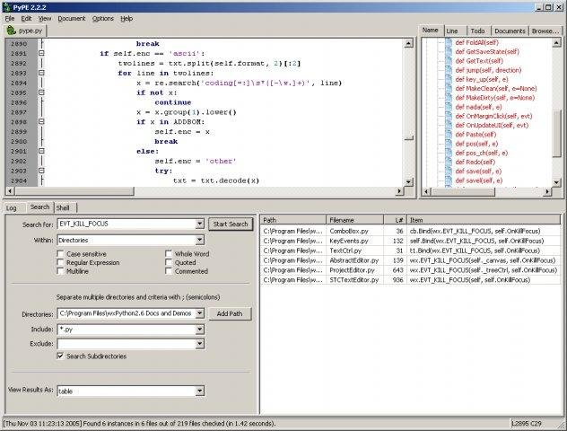 PyPE (Python Programmers Editor) download | SourceForge net
