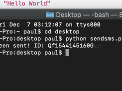 python send sms free script download | SourceForge net