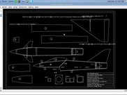 PythonCad On Linux Importing a dxf AirCraft