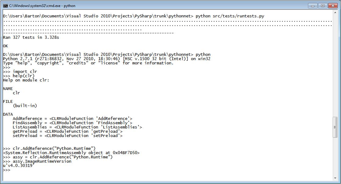 Python for  NET download | SourceForge net